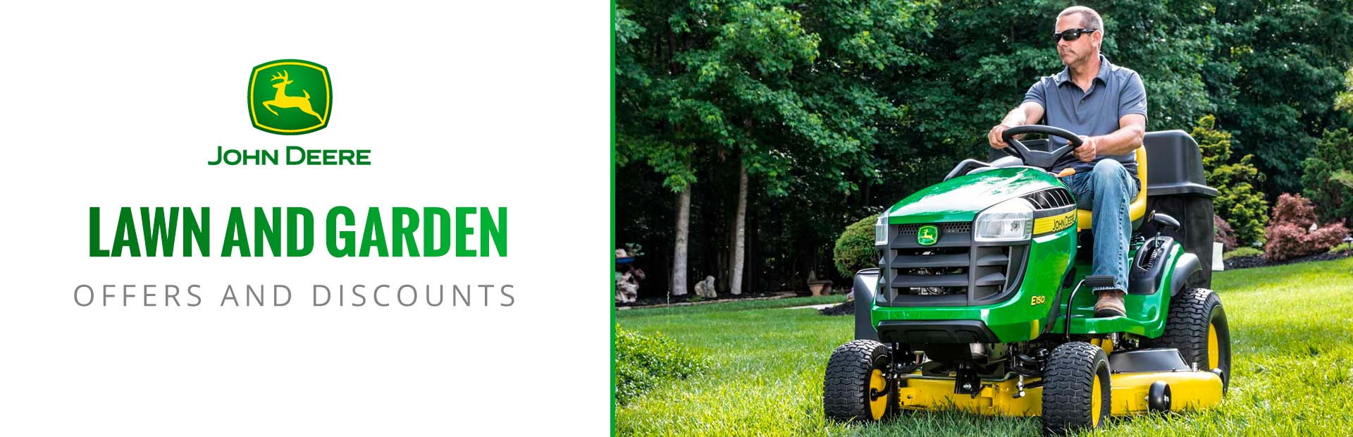 John Deere: Lawn and Garden Offers and Discounts